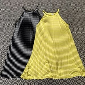 Old Navy Stripe Dress Bundle Medium